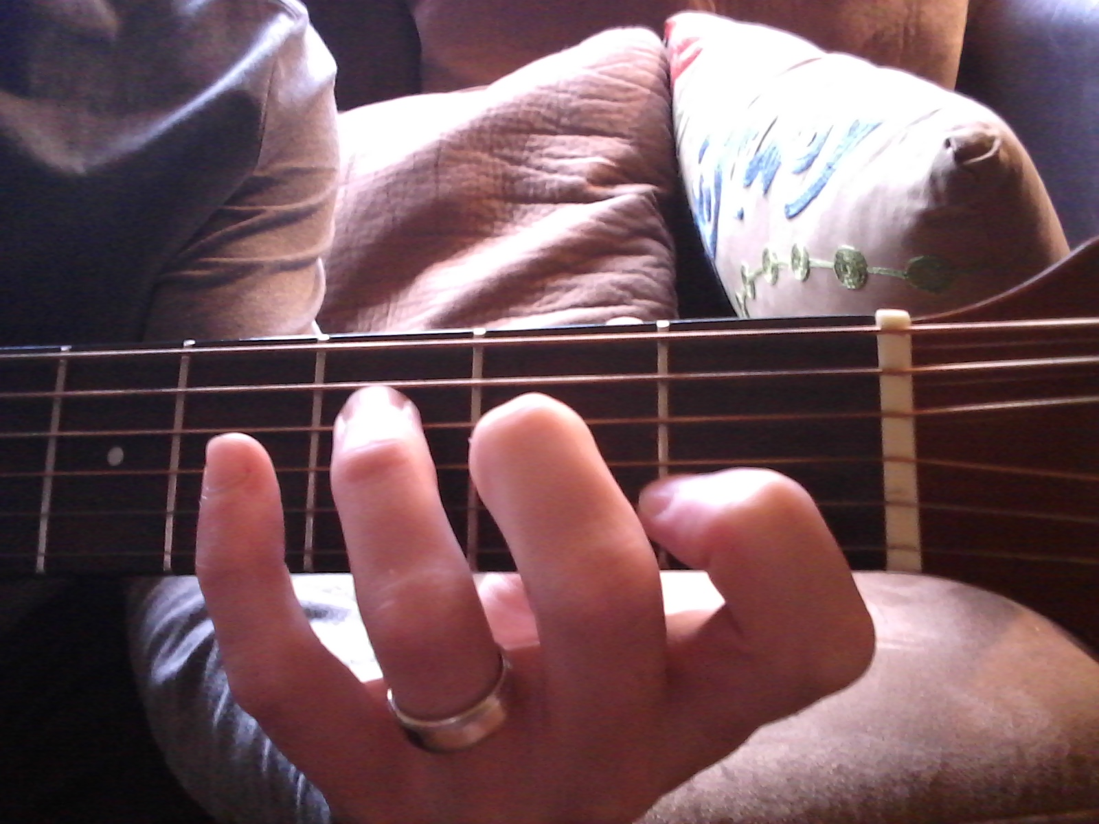 The First 4 Chords Basic Left Hand Position Fluentguitar